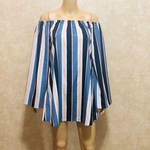 J for Justify women off shoulder dress size s